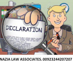 Suit For Declaration In Pakistan